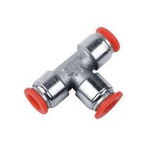 Push-in-Anschluss / T / pneumatisch / Verbindung