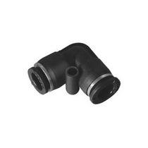 Push-in-Anschluss / 90°-Winkel / pneumatisch / Kunststoff