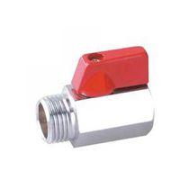 Kugelventil / pneumatisch gesteuert / für Gas / Miniatur