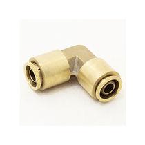 Schraubanschluss / 90°-Winkel / hydraulisch / Messing