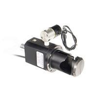 Quetsch Ventil / pneumatisch gesteuert / Edelstahl / aus Aluminium