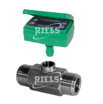 Turbinen-Durchflussmesser / für Flüssigkeiten / mit Anzeige / elektronisch