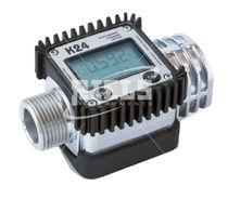 Turbinen-Durchflussmesser / für Flüssigkeiten / digital / mit Anzeige