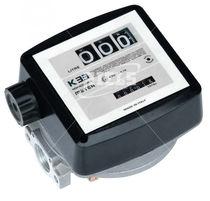 Taumelscheiben-Durchflussmesser / für Flüssigkeiten / aus Aluminium / ATEX