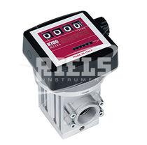 Ovalrad-Durchflussmesser / für Flüssigkeiten