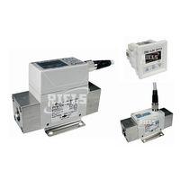 Thermischer Durchflusswächter / für Luft / digital / mit Indikator