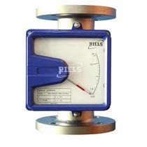 Schwebekörper-Durchflussmesser / für korrosive Flüssigmedien / mit integriertem Alarm / Metallrohr