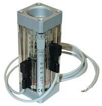 Kolben-Durchflusswächter / für Flüssigkeiten / mit Indikator / für Prozess