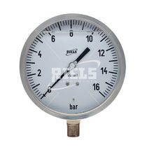 Analoges Manometer / Rohrfeder / für Gas / Vakuum