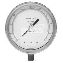 Manometer mit Zifferblatt-Anzeige / Rohrfeder / für Gas / Präzision
