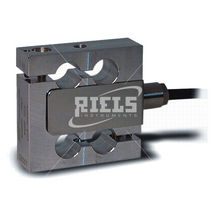 Wägezelle / Zug- und Druckkraft / S-förmig / aus Aluminium / Dehnungsmessstreifen