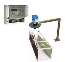 Ultraschall-Durchflussmesser / für Flüssigkeiten / für offene Kanäle / für senkrechte Montage