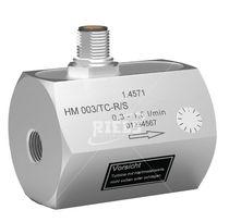 Turbinen-Durchflussmesser / für Flüssigkeiten / kompakt / in Reihe