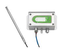 Feuchte- und Temperatursensor / Relativ / für Wandmontage / Digital