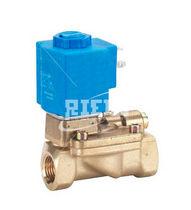 Vorgesteuertes Magnetventil / 2/2-Wege / Luft / Gas