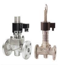 2/2-Wege-Magnetventil / Gas / für korrosive Flüssigkeiten