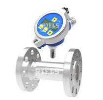 Turbinen-Durchflussmesser / für Flüssigkeiten / Flansch / IP65