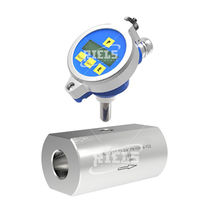 Turbinen-Durchflussmesser / für Flüssigkeiten / für Wasser / für Öl