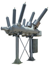 Primär-Schaltanlage / Hochspannung / Gasisolierte / hybrid