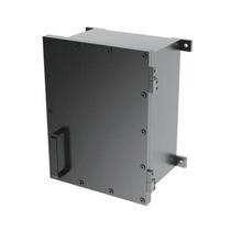 Wandmontierte Steckdosenkombination / Edelstahl / für den Außenbereich