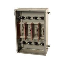 Wandmontierte Steckdosenkombination / Metall / für Verteiler