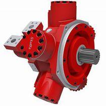 Hydraulik Motor / Radialkolben / variable Hubräume / Doppelhubraum / mit niedriger Drehzahl
