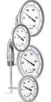 Bimetall-Thermometer / analog / Eintauchfühler / aus Edelstahl