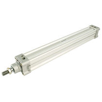Hydraulischer Zylinder / doppeltwirkend / Kolbenstangen / rund