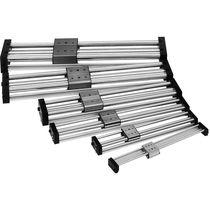 Pneumatischer Zylinder / hydraulisch / Doppel / kolbenstangenlos