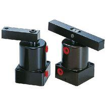 Pneumatischer Zylinder / Doppel / Einschraub / Drehklammer