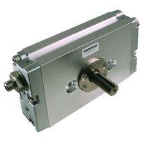 Drehzylinder / pneumatisch / doppeltwirkend / Zahnstangen-Ritzel