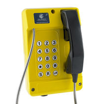 VoIP-Telefon / wandmontiert / wasserdicht