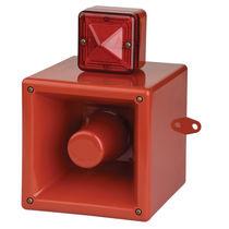 Alarm-Tongeber / mit Xenon-Alarmleuchte / Signallicht / IP66
