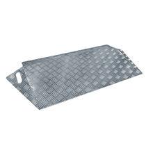 Aluminiumladerampe