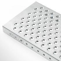 Metall-Gitterrost / Blech / für Regal