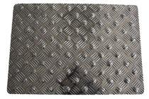 Antirutschmatte / Aluminium / podotaktil / mit Diamantrelief