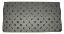Antirutschmatte / aus anodisiertem Aluminium / podotaktil