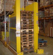 Vertikales automatisches Lagersystem / für leere Paletten / für Lagerhallen