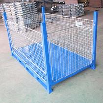 Stahl-Boxpalette / Maschendraht / Lager / klappbar