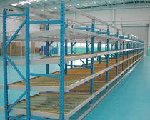 Warenlager-Regal / für mittelschwere Lasten / dynamisch / Stahl