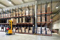 Warenlager-Regal / Schwerlast / für Schachteln / dynamisch