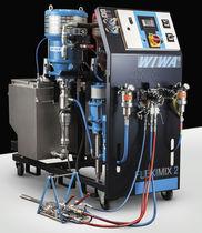 Spritzanlage / 2-Komponenten -Farb / pneumatisch