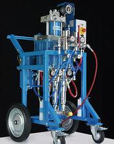 Spritzanlage / 2-Komponenten -Farb / pneumatisch / hydraulisch