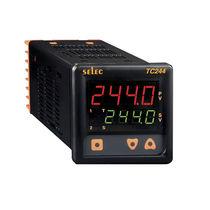 LED-Doppelanzeige-Temperaturregler / PID / IP65 / für Schalttafeleinbau