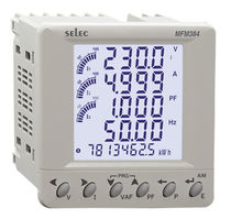 Leistungsmessgerät / Multifunktion / Schalttafelmontage / Schnittkante