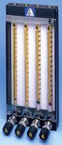Schwebekörper-Durchflussmesser / für Gas / für Flüssigkeiten / mit direkter Anzeige