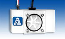 Impeller-Durchflussmesser / für Flüssigkeiten / für senkrechte Montage / aus Polypropylen