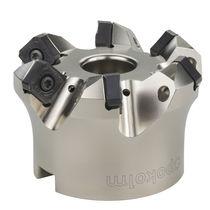 Walzenstirnfräser / Plan / für Gusseisen / für Stahl