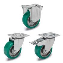 Laufflächen-Rad / polyurethanbeschichtet / für geringe Belastung