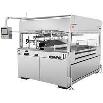Schokoladen-Beschichtungsmaschine / für die Lebensmittelindustrie